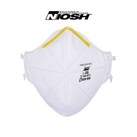 CE Niosh Approved N95 Disposable Non Woven Dust Mask Face Respirator